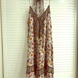 American eagle dress with flower pattern